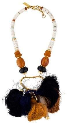 Lizzie Fortunato Brush Stroke Necklace