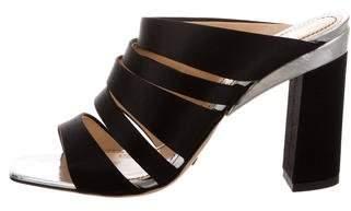 Jerome C. Rousseau Hewitt Satin Sandals w/ Tags
