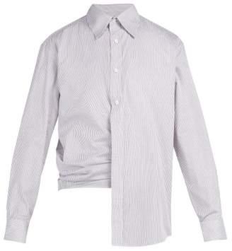 Martine Rose - Cotton Wrap Shirt - Mens - Multi