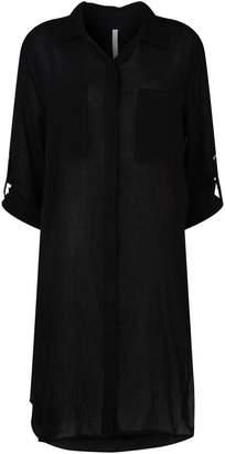 Seafolly Crinkle Twill Shirt Dress