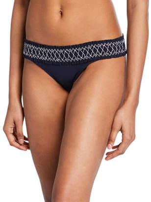 Heidi Klein Anguilla Smocked Hipster Bikini Bottom