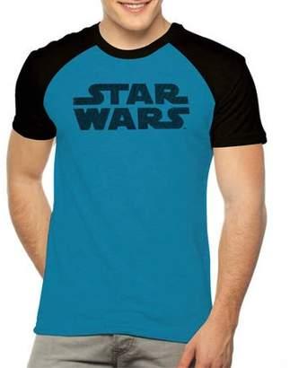 Star Wars Movies & TV Men's raglan poly tee with hd bristle print