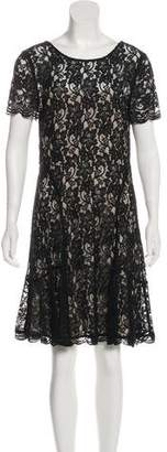 Diane von Furstenberg Scoop Neck Lace Dress w/ Tags