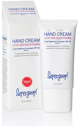 Supergoop! Forever Young Hand Cream with Sea Buckthorn SPF 40, 1 oz.