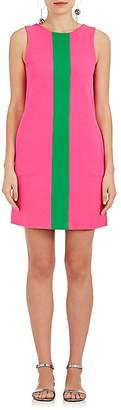 Lisa Perry Women's Striped Wool Shift Dress
