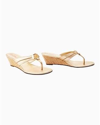 Lilly Pulitzer Womens McKim Wedge Sandal
