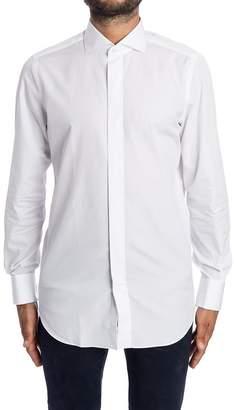 Finamore Shirt Cotton Double Cuff