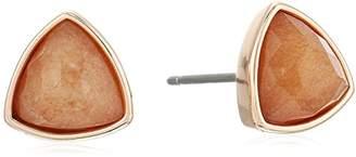 Vera Bradley Geo Facets Triangle Stud Earrings