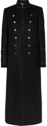 Saint Laurent Wool-felt Coat - Black