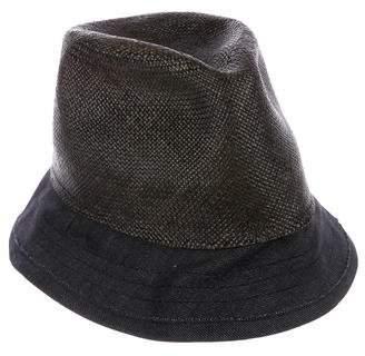 Albertus Swanepoel Straw Bucket Hat