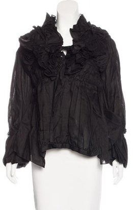 Junya Watanabe Ruched Pleated Jacket w/ Tags $325 thestylecure.com