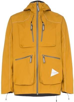 and Wander zipped pocket windbreaker jacket