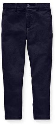 Ralph Lauren Corduroy Straight-Leg Pants, Size 5-7