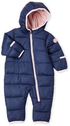 Michael Kors Newborn/Infant Girls) Hooded Pram Snowsuit