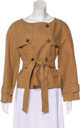 Sies Marjan Collarless Trench Jacket