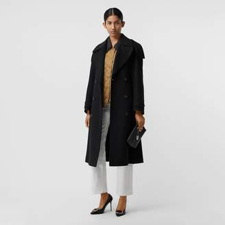 Burberry Wool Cashmere Double-breasted Coat