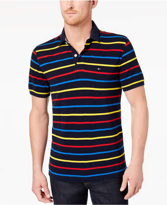 Tommy Hilfiger Men's Moor Striped Classic Fit Polo