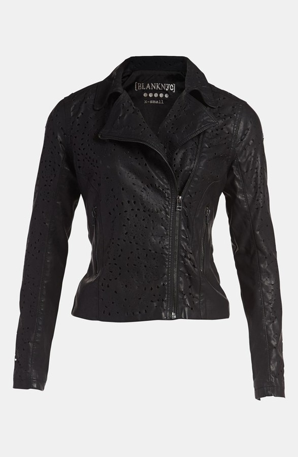 Blank NYC BLANKNYC 'Cookie Cutter' Faux Leather Jacket