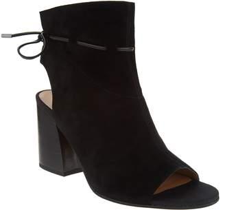 Franco Sarto Suede Tie-Back Ankle Boots - Fenwick
