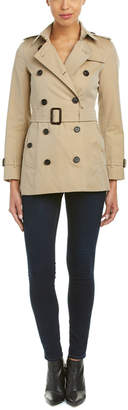 Burberry Kensington Short Heritage Trench Coat
