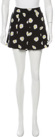 Kate Spade Kate Spade New York Daisy Silk-Blend Shorts