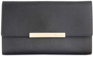 Calvin Klein Saffiano Leather Evening Clutch