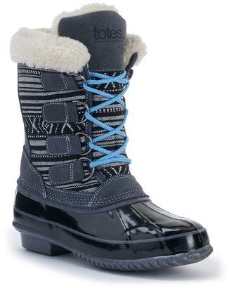 Totes Leslie Women's Winter Duck Boots $99.99 thestylecure.com