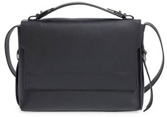 Allsaints 'Paradise' Leather Shoulder Bag - Black $228 thestylecure.com