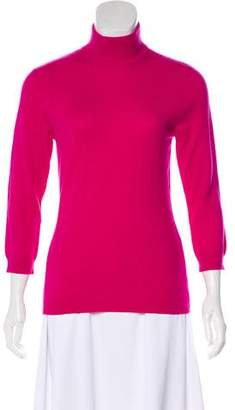 Tory Burch Mock Neck Cashmere Sweater