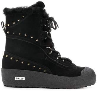 Bally Celinia star studded snow boots
