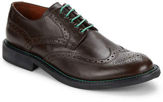 Bugatchi Arezzo Wingtip Toe Leather Shoes