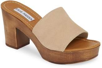 334ef440fab Steve Madden Beige Platform Women s Sandals - ShopStyle