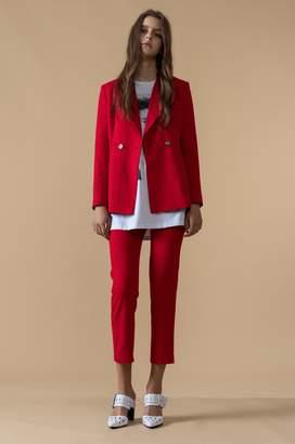 Genuine People Red Blazer