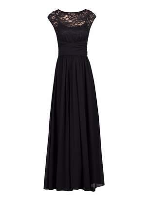 Dorothy Perkins Womens *Jolie Moi Black Lace Maxi Dress