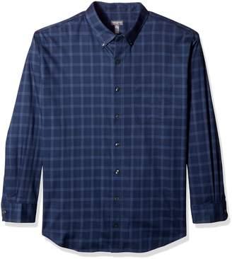 Van Heusen Men's Big Flex Long Sleeve Slim Fit Stretch Shirt