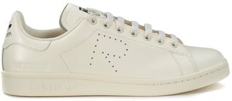 Sneaker Adidas X Raf Simons Stan Smith In Pelle Bianco Crema $255 thestylecure.com