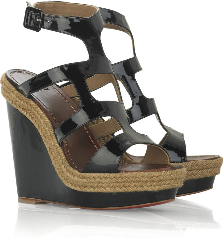 Christian Louboutin Salamanca 120 wedge sandals