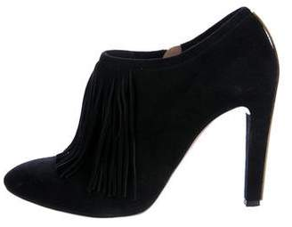 Chloé Suede Fringe Booties