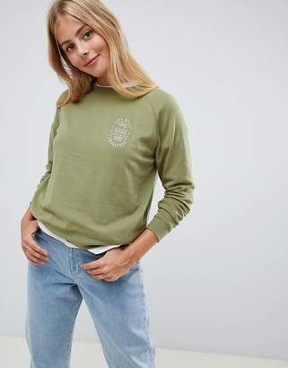 Jack Wills brushback crew neck sweatshirt