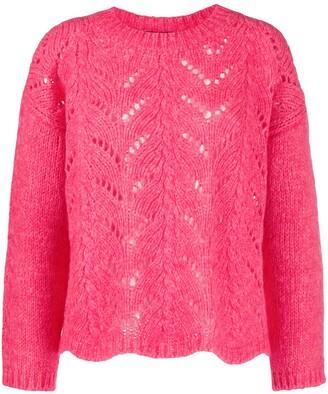 Twin-Set open knit jumper