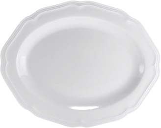 Mikasa Antique White Oval Serving Platter