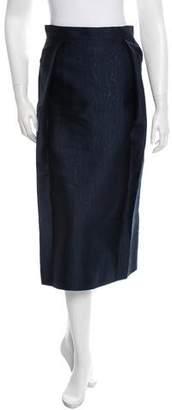 Araks Printed Midi Skirt