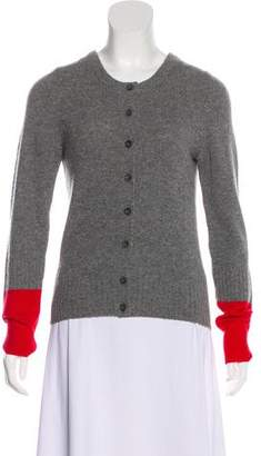 Marc by Marc Jacobs Wool Button-Up Cardigan