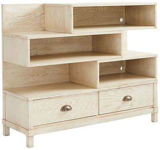 Stone & Leigh Driftwood Park Low Bookcase - Vanilla