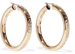 Dannijo Lucy Gold-Plated Hoop Earrings