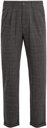 Barena VENEZIA Wide-leg checked wool trousers