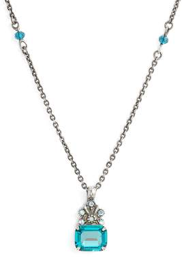 Sorrelli Crowning Glory Crystal Pendant Necklace