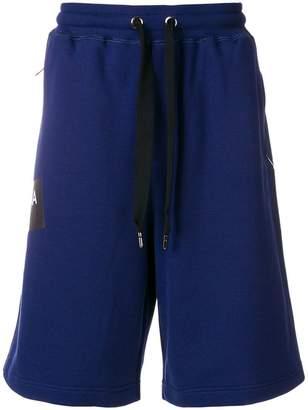Dolce & Gabbana logo tape track shorts