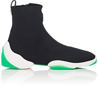 Giuseppe Zanotti Men's Double-Sole Neoprene Sneakers