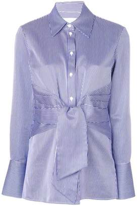 Victoria Beckham Victoria striped folded blouse